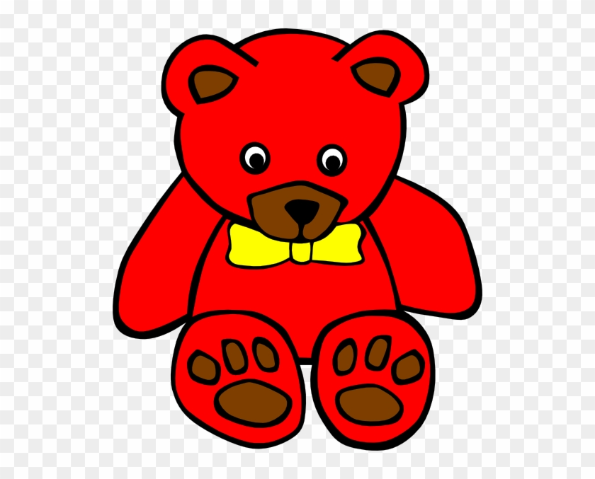 Teddy 5 Clip Art At Clker - Teddy Bear Clip Art #58959