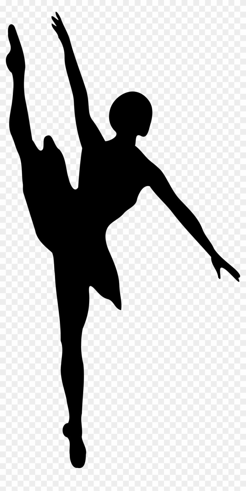 Ballet Dancer - Ballet Dancer Silhouette #58979