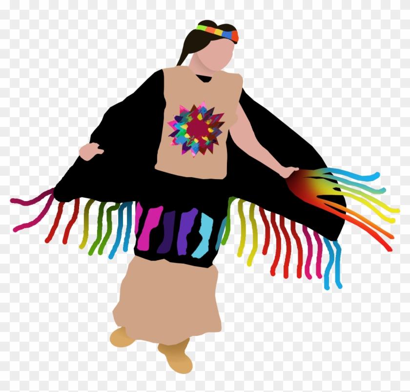 Pow Wow Clip Art - Pow Wow Dancers Clip Art #59070