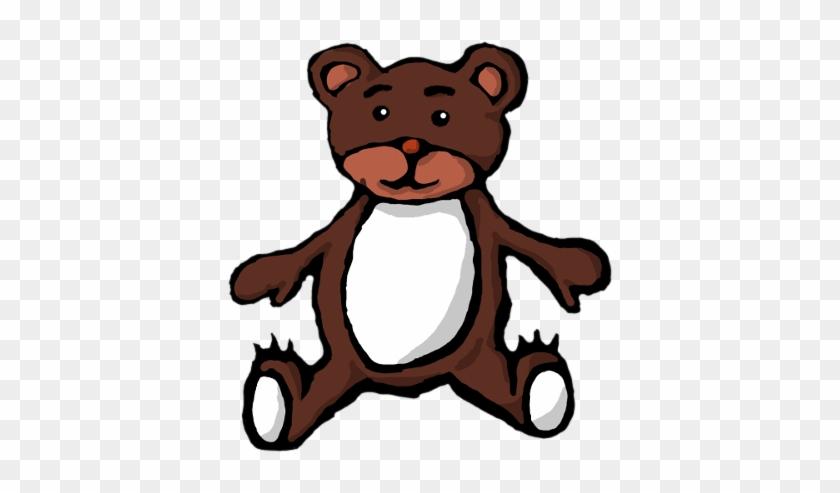 Animals/ Mammals/ Bears/ Cartoon/ Teddy Bear - Tux Paint #59100