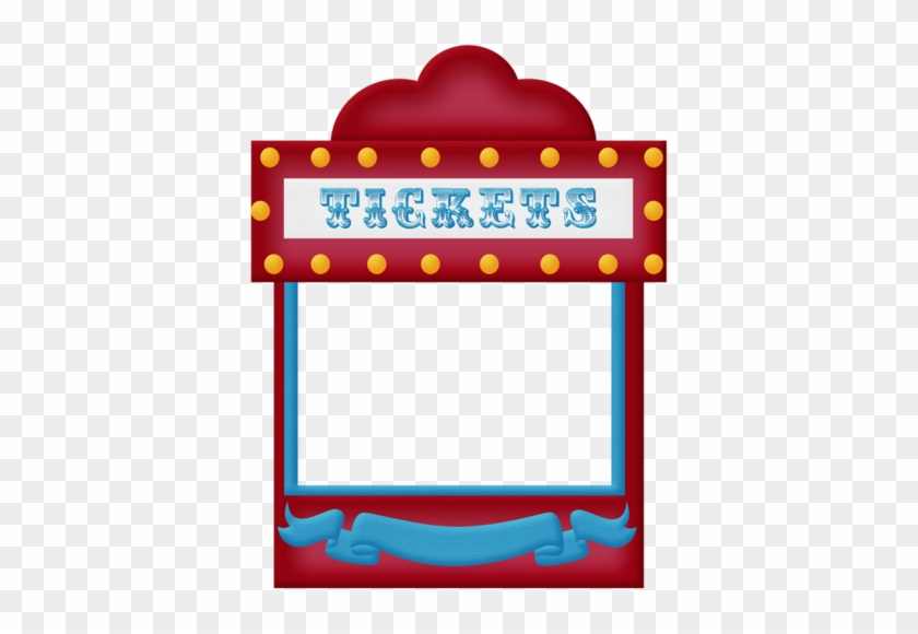 Aw Circus Ticket Booth Frame - Circus Ticket Booth Clipart - Free ...
