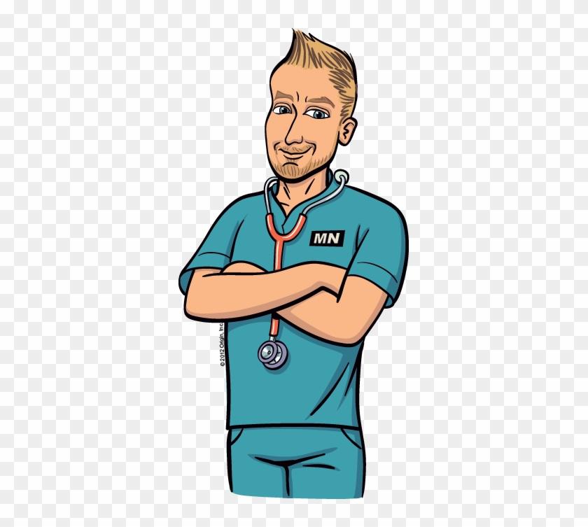 Nurse Clipart Man - Male Nurse Clipart #59301