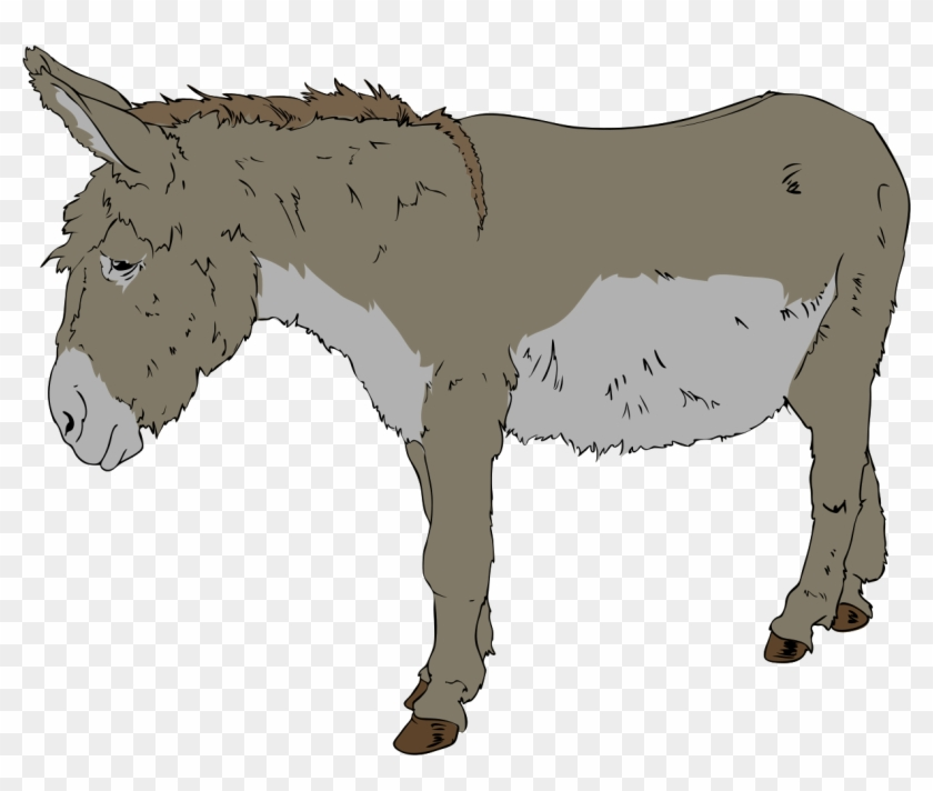 Donkey Clipart - Benjamin From Animal Farm #59349