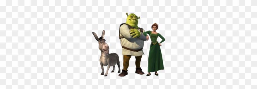 Shrek Clip Art - Shrek Fiona And Donkey #59457