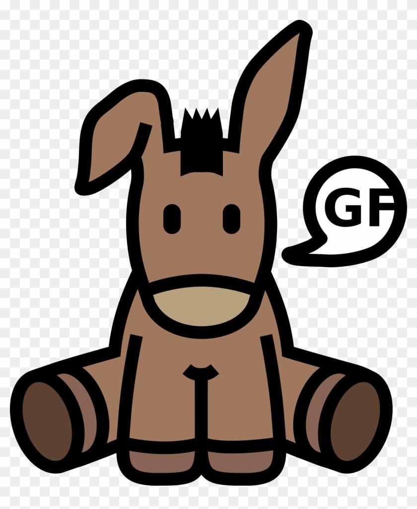 Big Image - Donkey Icon #59474