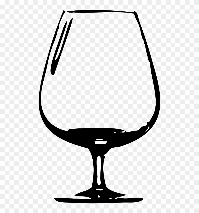 Snifter Beer Glass Png #59472