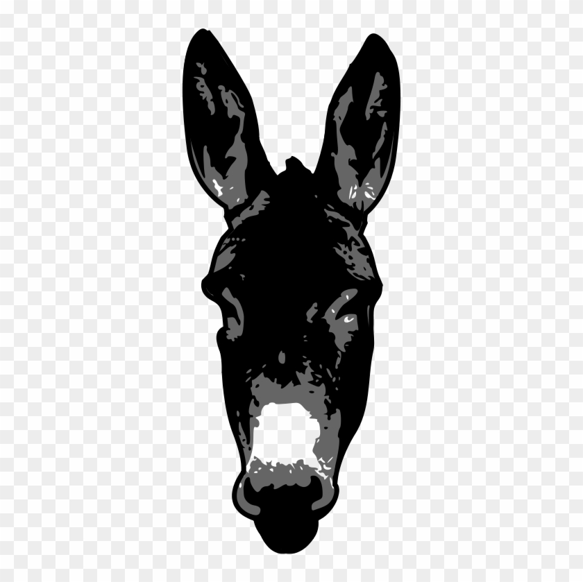 Clip Art Tags - Donkey Silhouette #59486