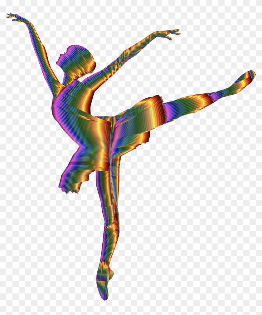 Clipart - Ballerina Dance Silhouette Png #59559