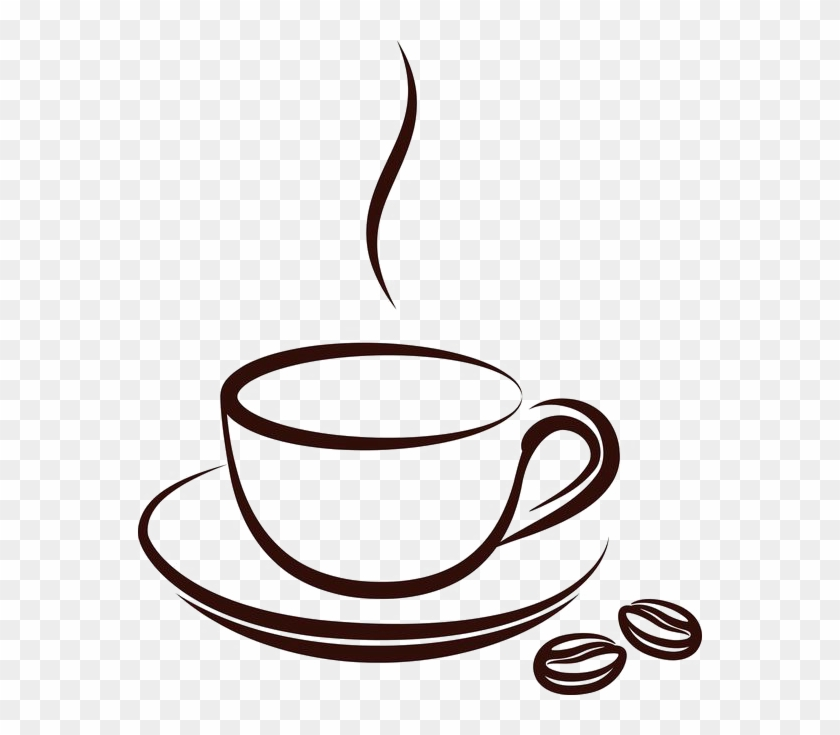Coffee Cup Tea Cafe Clip Art - Cup Coffee Vector Png #59595