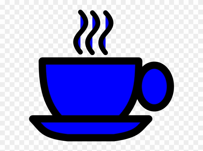Blue Coffee Cup Clip Art - Coffee Cup Clipart Png #59613