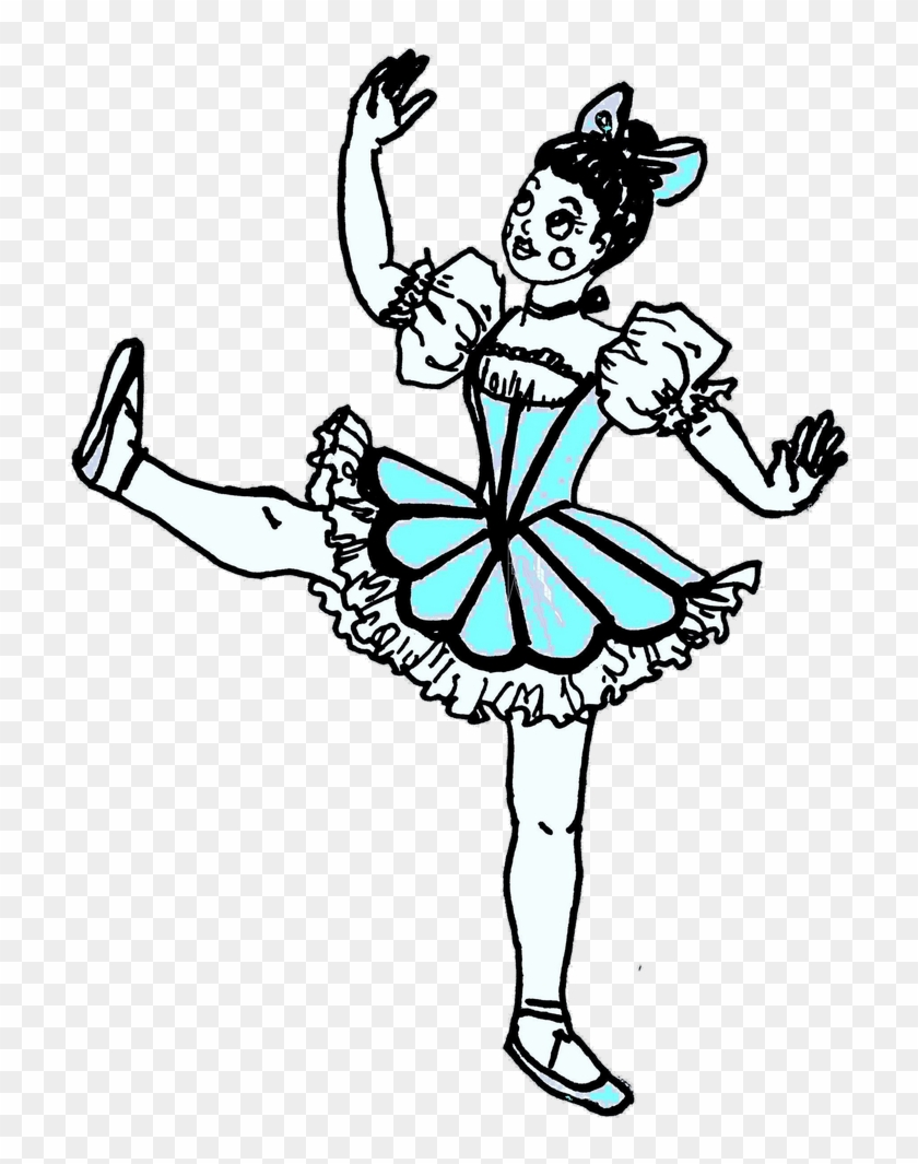 Ar-130409928 Updated= - Coloring Pages Ballet Dancer Coppelia #59779