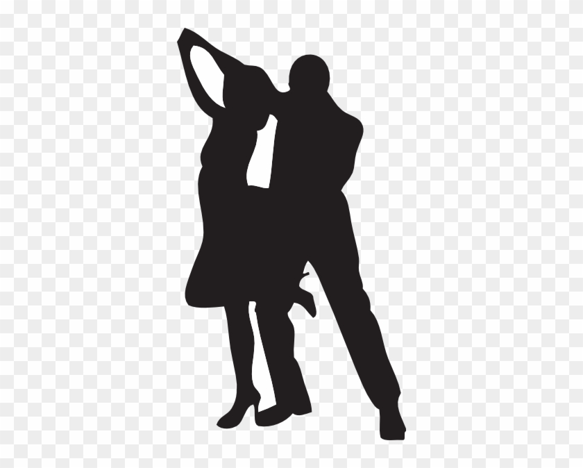 Dancer Silhouette Clip Art - Dancing Couple Silhouette Png #59824