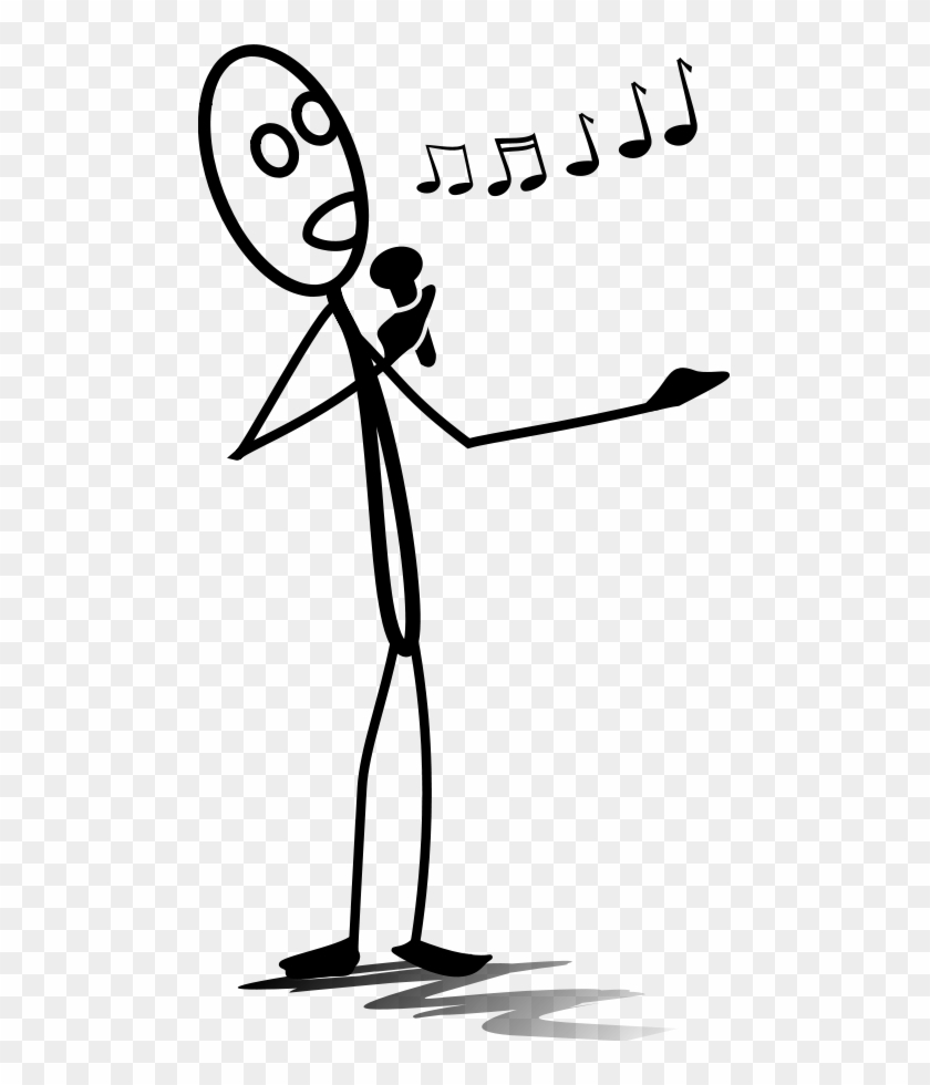 How To Set Use Al Singing Melody Icon Png - Singing Stick Figure #60028