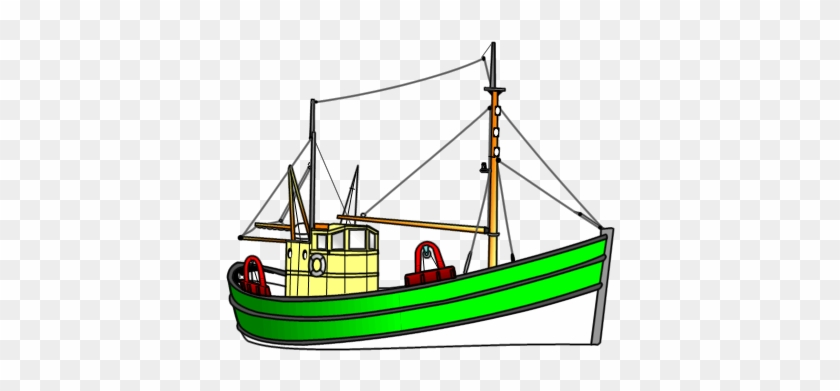 Motor Fishing Vessel - Fishing Vessel #60067