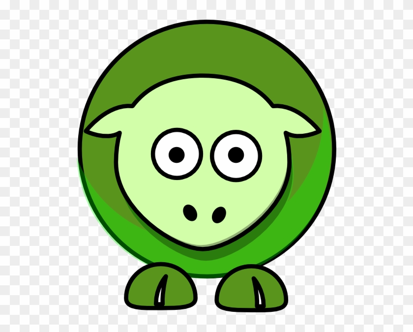 Sheep Cartoon Green 5a961eff - Green Sheep Cartoon #60144