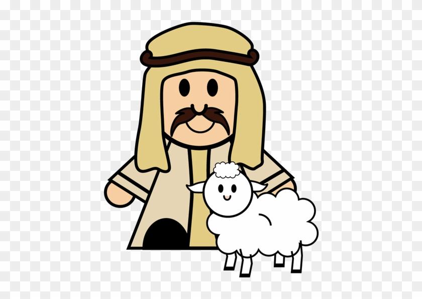 Nativity Clipart - Clip Art Nativity Shepherds #60156