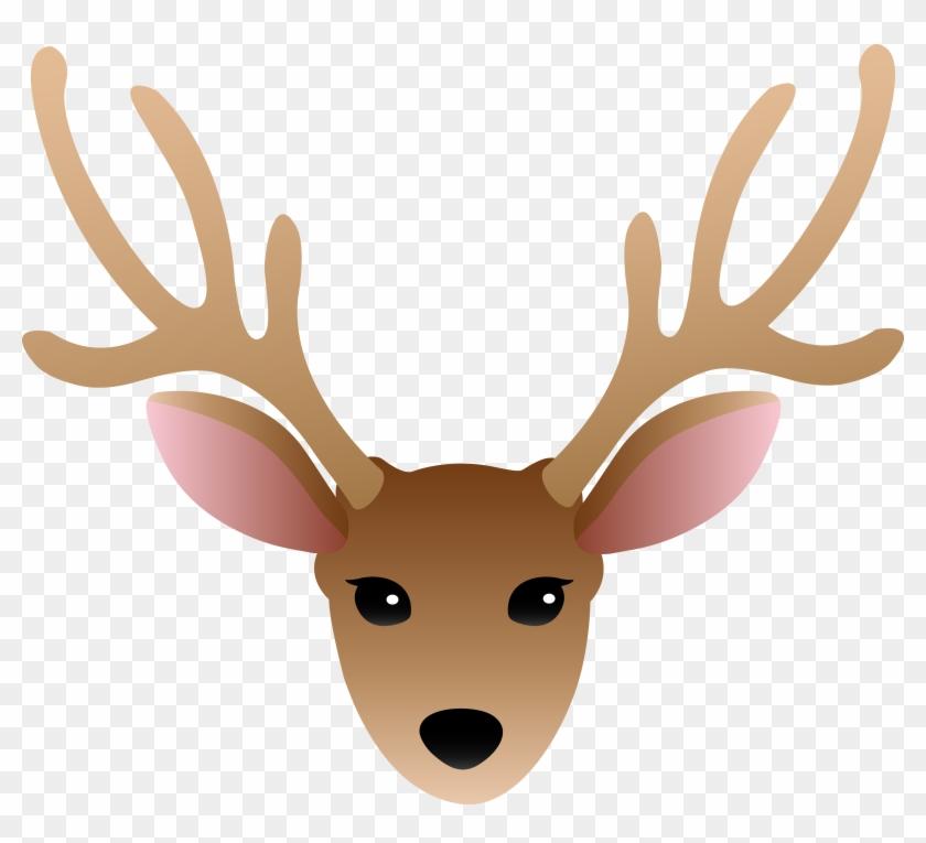 Clipart Info - Deer Head Clipart #60193