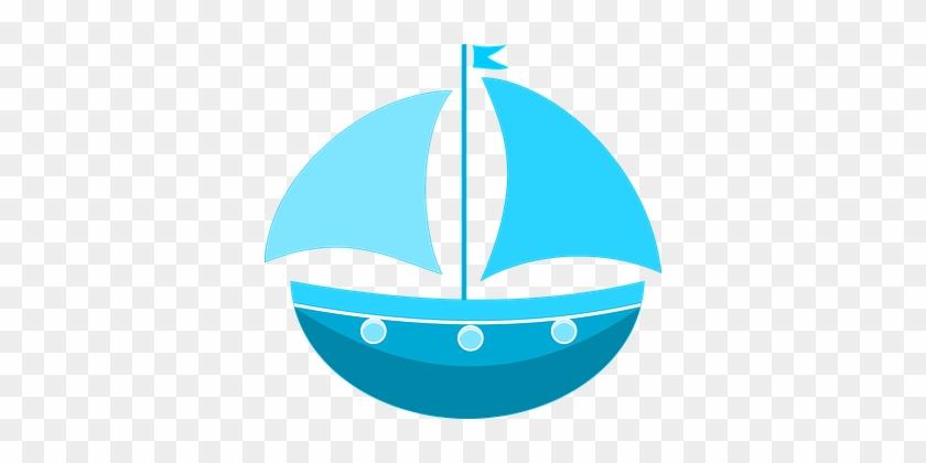 Sea Ship Traffic Ship Ship Ship Ship Ship - Blue Sailing Boat Tote Bag, Natural #60183