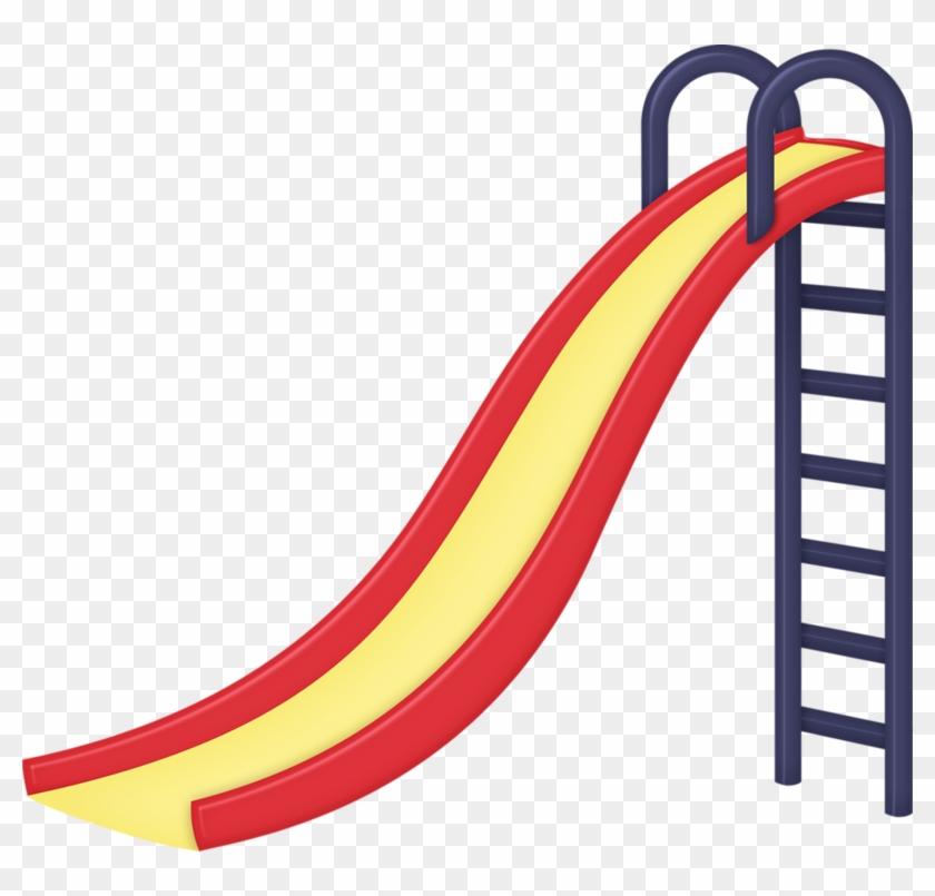 Clip Art - Playground Slide Clip Art #60363