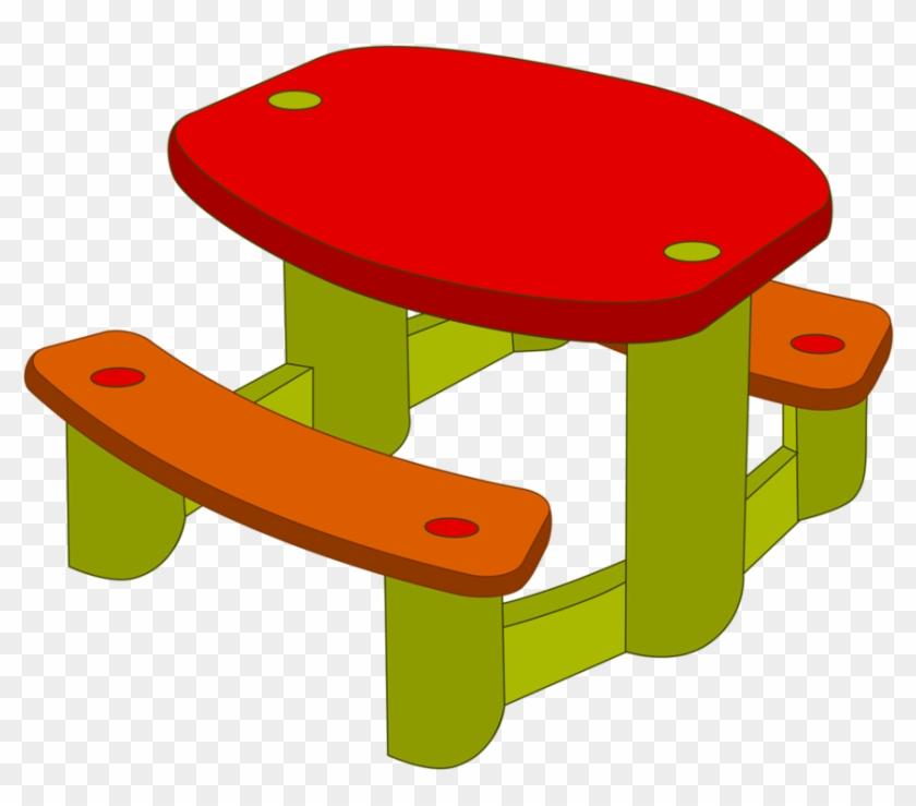 School Clipartoutdoor Playgroundbaby - Table Clipart #60385