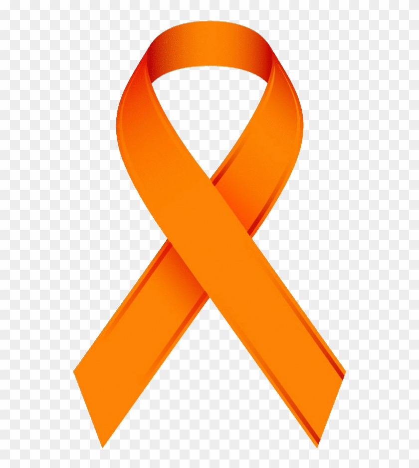 Orange Awareness Ribbon Clip Art - Prostate Cancer Blue Ribbon #60443