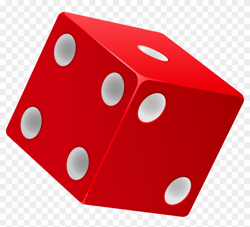 Red Dice Png Clip Art - Dice Png #60472