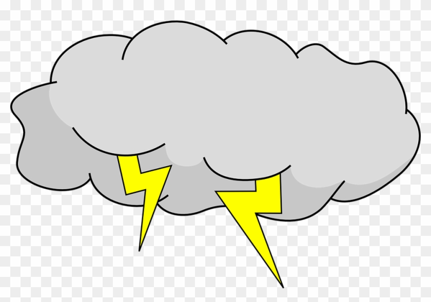 Medium Image - Cartoon Storm Cloud #60583