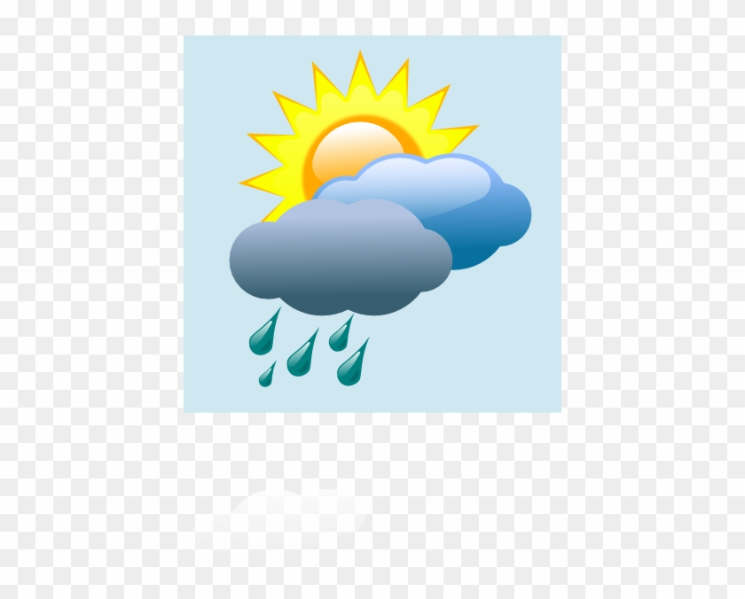 Rain Clipart Weather Icon - Weather Forcast In Png #60590