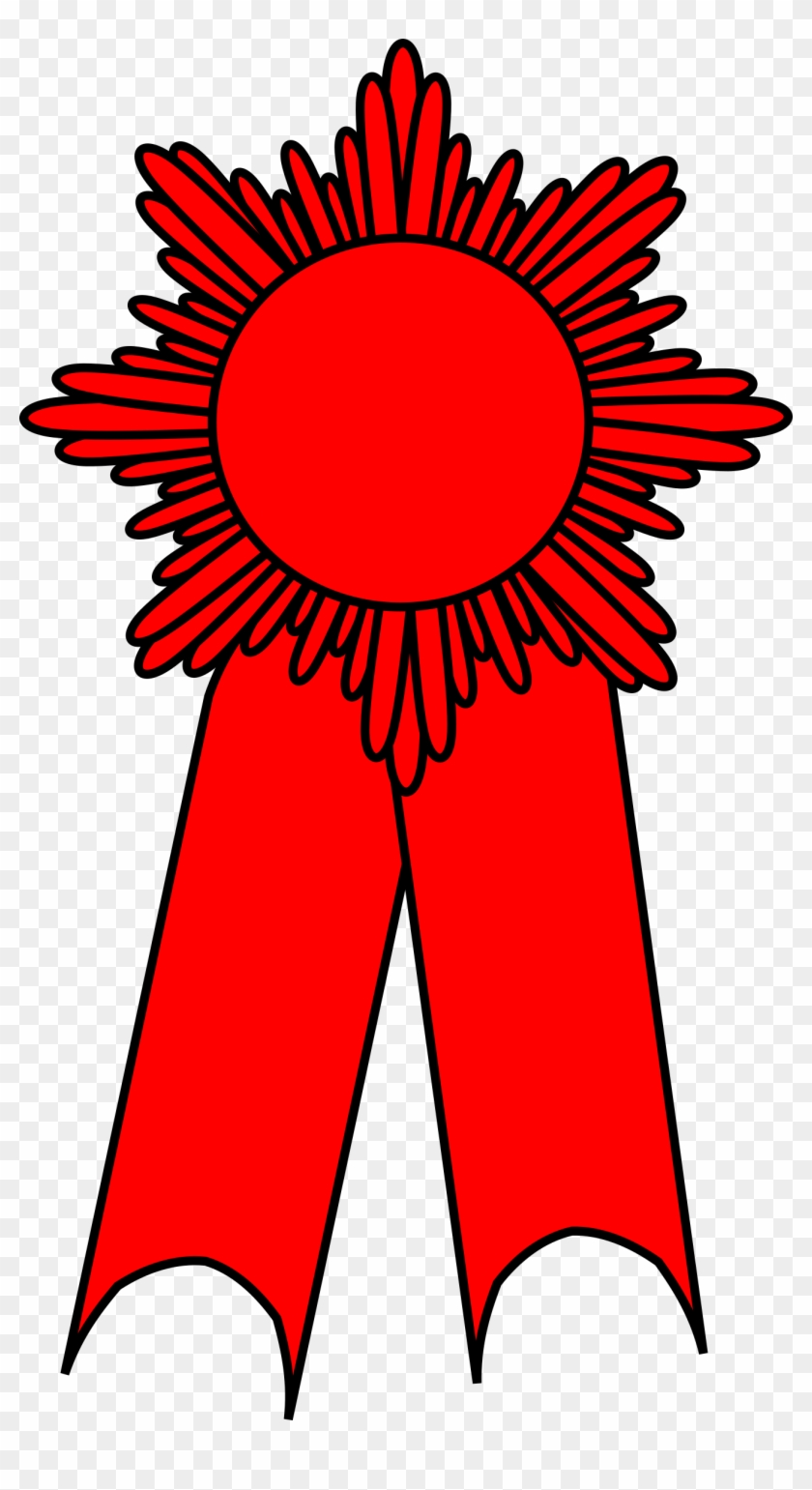 Blue Ribbon Computer Icons Clip Art - Red Ribbon Award Clipart Png #60691