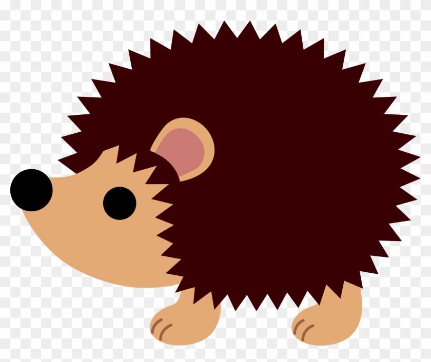 Hedgehog Clipart Free Clipart Image - Basteln Igel Aus Papier #60731