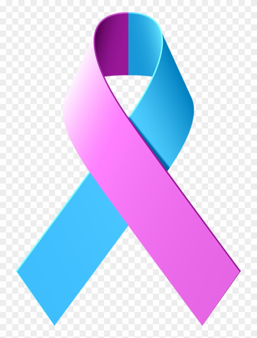 Support Breast Cancer Awareness With These Ribbons - Breast Cancer Blue Ribbon #60722