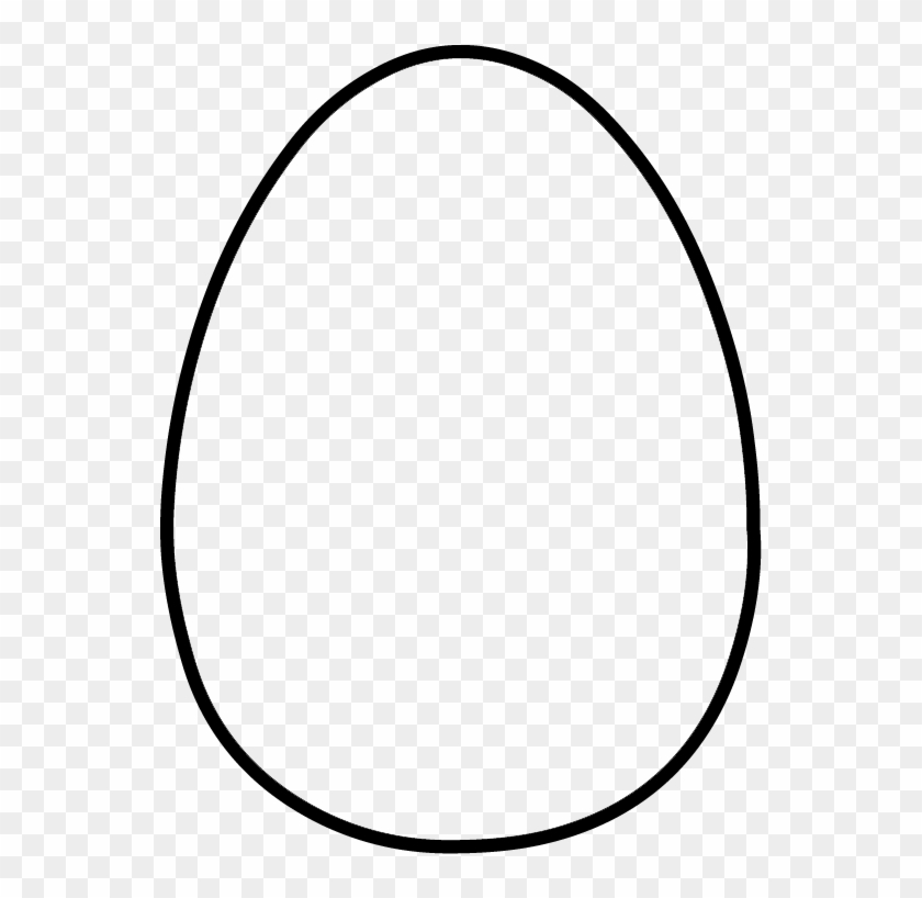 photograph regarding Printable Easter Egg Template called No cost Printable Easter Egg Template - Every month Pentadecagon