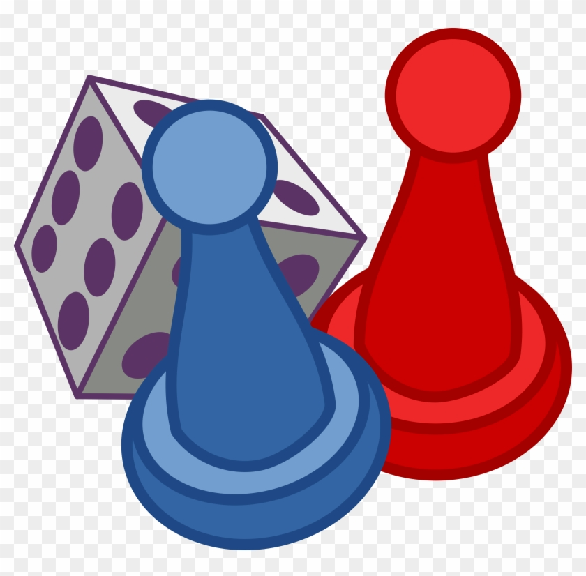Game Pieces Cliparts - Games Clipart #60763