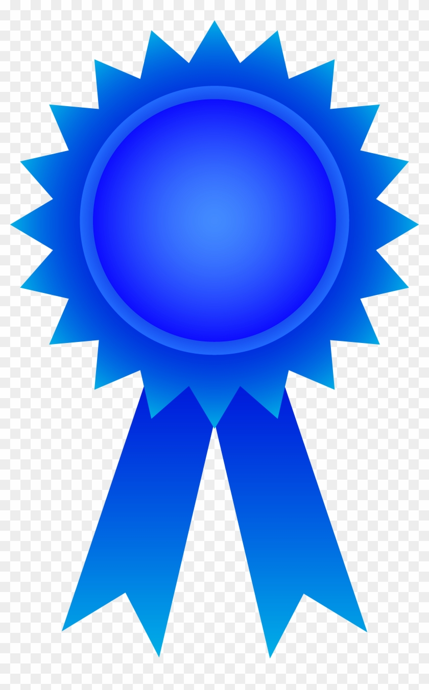 Purple Award Ribbon Clipart - Blue Award Ribbon #60847