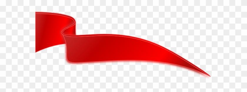 Dark Red Ribbon Clip Art At Clker Com Vector Clip Art - Red Ribbon Png Vector #60860