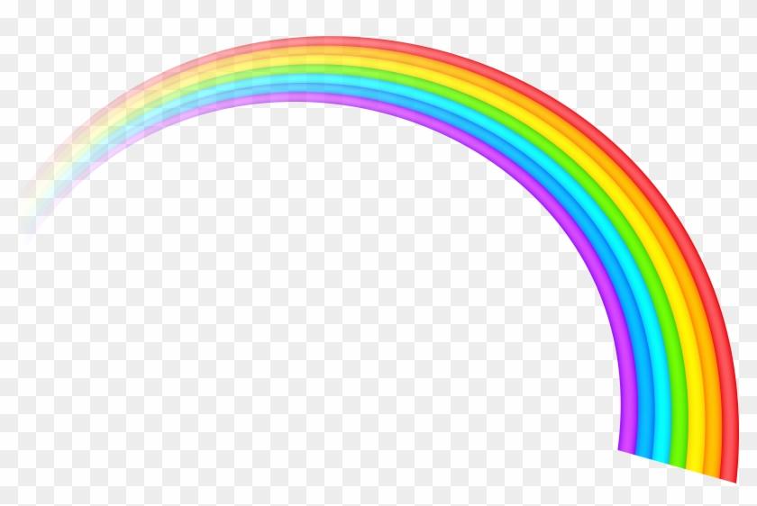 Free Rainbow Clipart Public Domain Rainbow Clip Art - Rainbow Transparent #60875