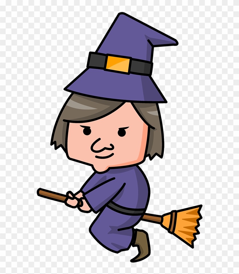 Witch Clip Art Hostted - Witch Cartoon Clipart #60872
