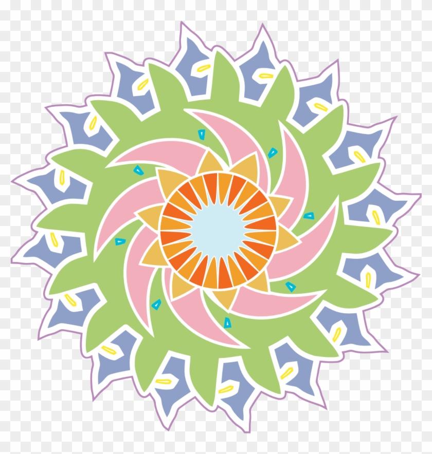 Tikigiki Abstract Element 24 Flower 555px - Clip Art #60883