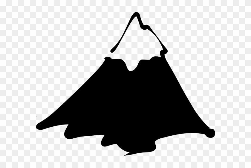 Clip Arts Related To - Mountain Black And White Clipart #60887
