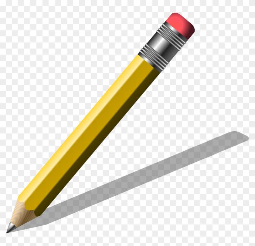 Pencil Writing Clip Art Free Clipart Of Pencil - Public Domain Images Pencil #60907
