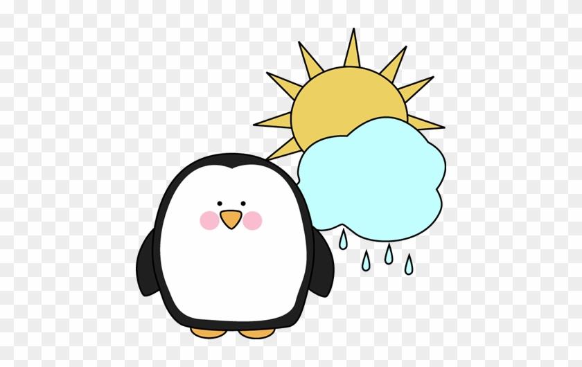 Penguin Classroom Job Clip Art Clip Art - Penguin In The Sun Clipart #60930