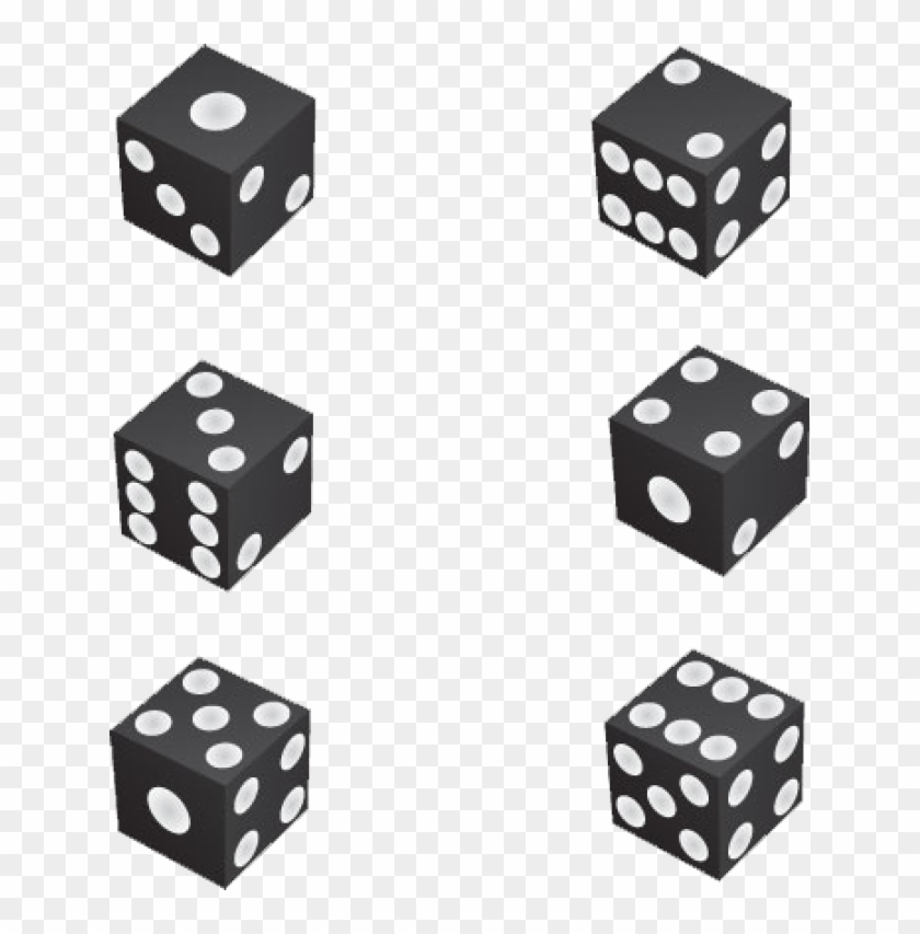 1 Dice Clipart - Numbers In A Dice #60945