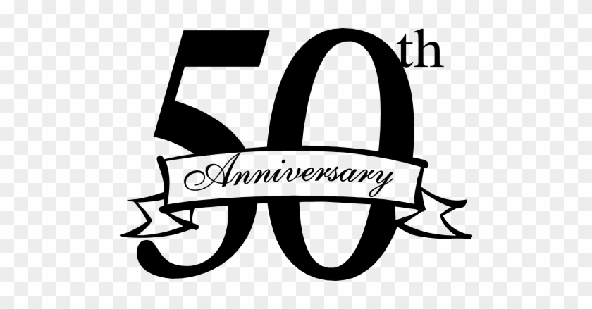 50th Anniversary Banner - Happy 20th Anniversary Clipart #60944