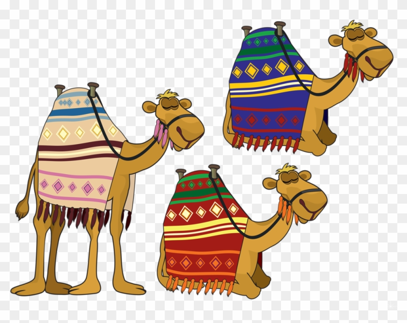 Camels Clipart Christmas - Nativity Camel Clipart #308131