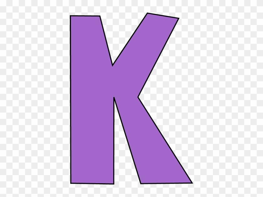 Purple Letter K - Letter K Clipart Purple #308227