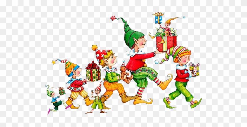Tubes Noel / Elfes, Lutins - Mary Engelbreit Christmas Elves #308478