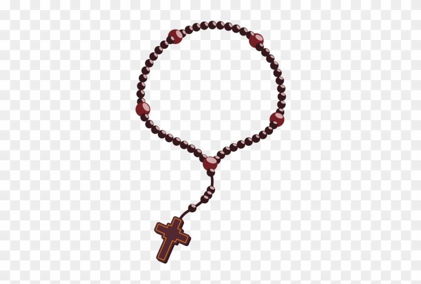 Holy Rosary - Rosary Beads Cartoon #308507