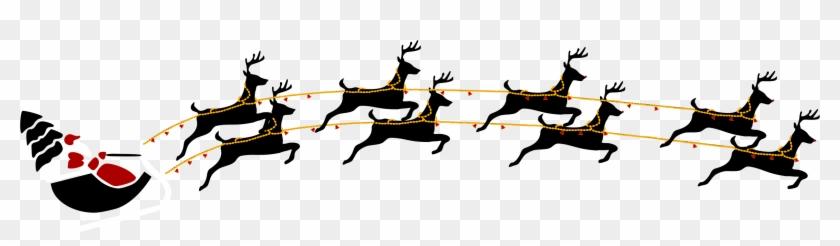 Santa sleigh reindeer clipart clipartfest 2 - WikiClipArt