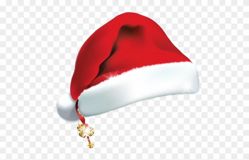 Santa Hat Clip Art Hats Image - Christmas Hat Icon Png #308761