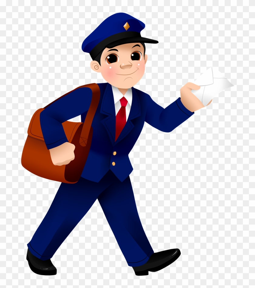 Royalty Free Mailman Clipart - Postman Png #308767